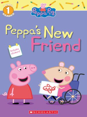 cover image of Peppa's New Friend