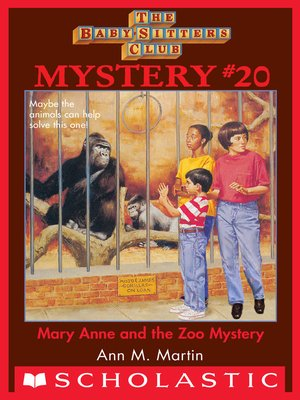 cover image of Mary Anne and the Zoo Mystery