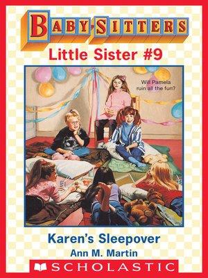 cover image of Karen's Sleepover