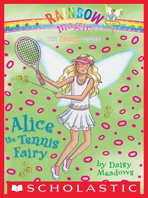 cover image of Alice the Tennis Fairy