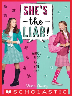 cover image of She's the Liar