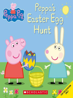 cover image of Peppa's Easter Egg Hunt