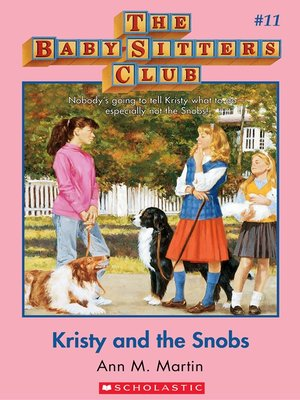 cover image of Kristy and the Snobs