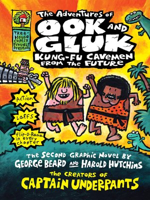 cover image of The Adventures of Ook and Gluk, Kung-Fu Cavemen from the Future