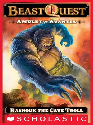 cover image of Rashouk the Cave Troll