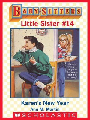 cover image of Karen's New Year