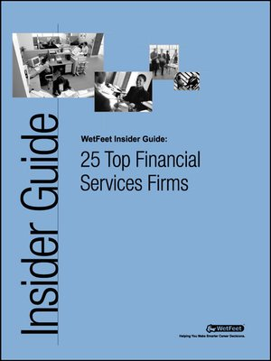 cover image of 25 Top Financial Services Firms