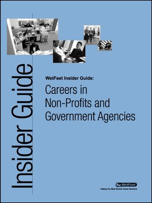 cover image of Careers in Non-Profits and Government Agencies