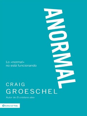 cover image of Anormal