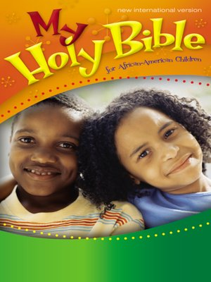 cover image of My Holy Bible for African-American Children, NIV