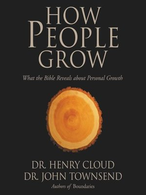 cover image of How People Grow