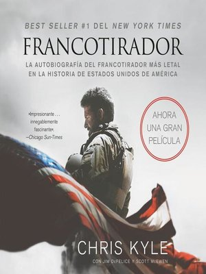 cover image of Francotirador (American Sniper--Spanish Edition)