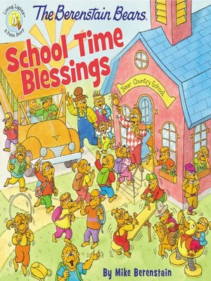 cover image of The Berenstain Bears School Time Blessings