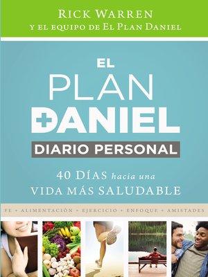 cover image of El plan Daniel, diario personal