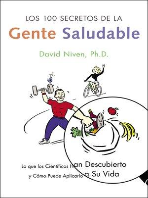 cover image of Los 100 Secretos de la Gente Saludable