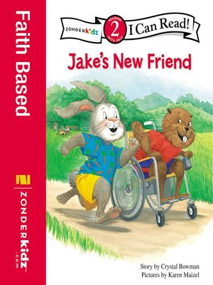 cover image of Jake's New Friend