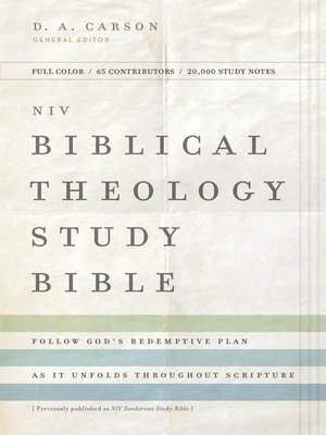 cover image of NIV, Biblical Theology Study Bible, eBook