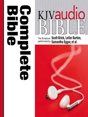cover image of KJV Audio Bible, Pure Voice