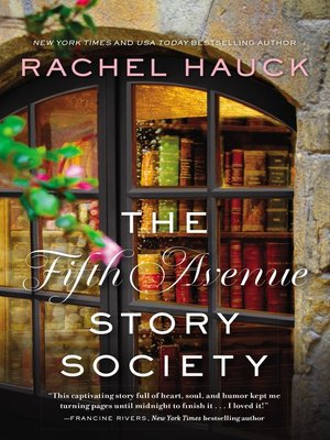 cover image of The Fifth Avenue Story Society