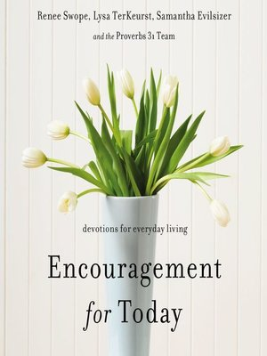 cover image of Encouragement for Today