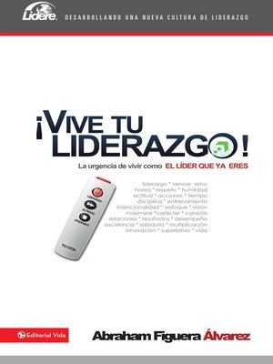 cover image of Vive tu liderazgo