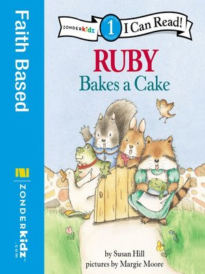 cover image of Ruby Bakes a Cake