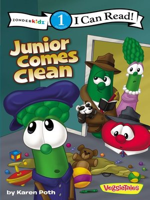cover image of Junior Comes Clean / VeggieTales / I Can Read!