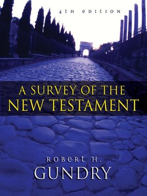cover image for a survey of the new testament