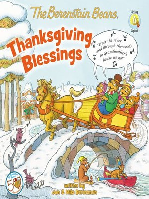 cover image of The Berenstain Bears Thanksgiving Blessings