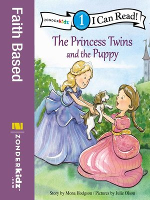 cover image of The Princess Twins and the Puppy