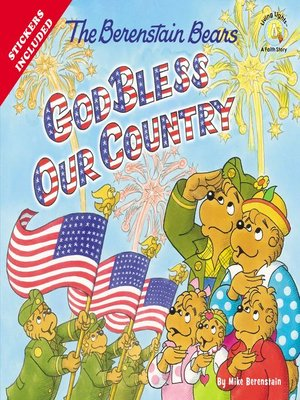 cover image of The Berenstain Bears God Bless Our Country