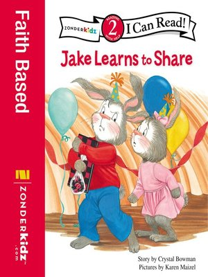 cover image of Jake Learns to Share