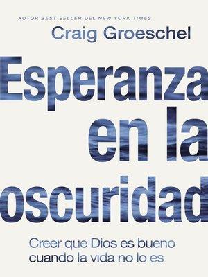 cover image of Esperanza en la oscuridad