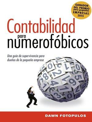 cover image of Contabilidad para numerofóbicos