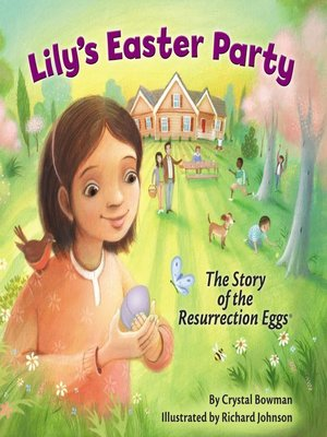 cover image of Lily's Easter Party