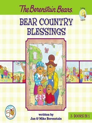 cover image of The Berenstain Bears Bear Country Blessings