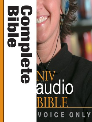 cover image of NIV Bible Voice Only COMPLETE