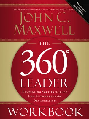 cover image of The 360 Degree Leader Workbook