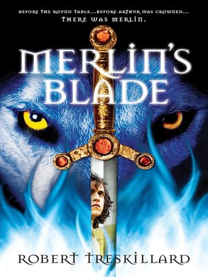 cover image of Merlin's Blade