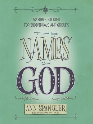 cover image of The Names of God