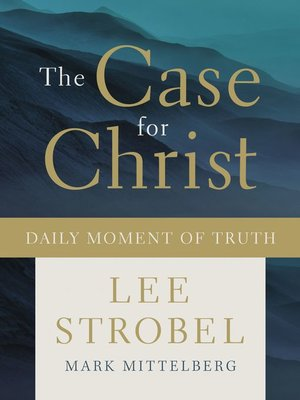 cover image of The Case for Christ Daily Moment of Truth