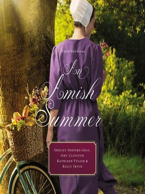 cover image of An Amish Summer