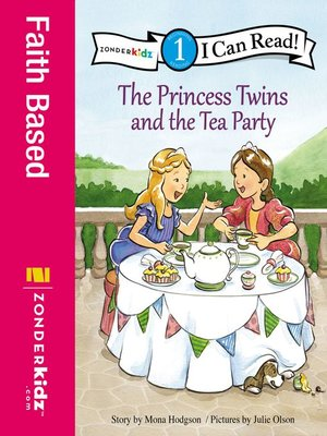 cover image of The Princess Twins and the Tea Party