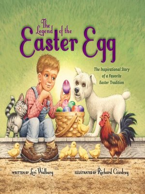 cover image of The Legend of the Easter Egg, Newly Illustrated