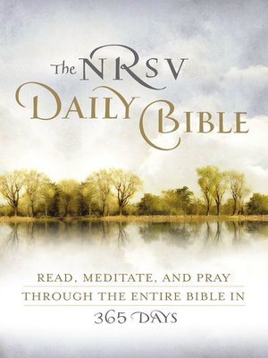 cover image of NRSV, the Daily Bible, eBook