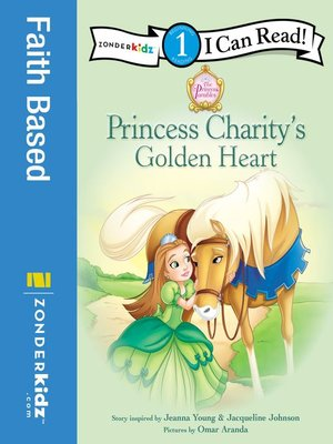 cover image of Princess Charity's Golden Heart
