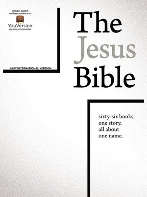 cover image of The Jesus Bible, NIV