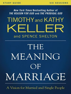 cover image of The Meaning of Marriage Study Guide