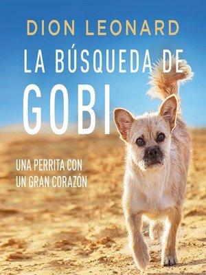 cover image of La búsqueda de Gobi