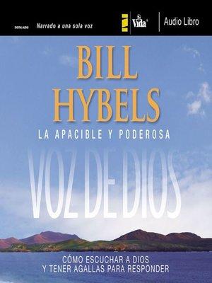 cover image of La apacible y poderosa voz de Dios